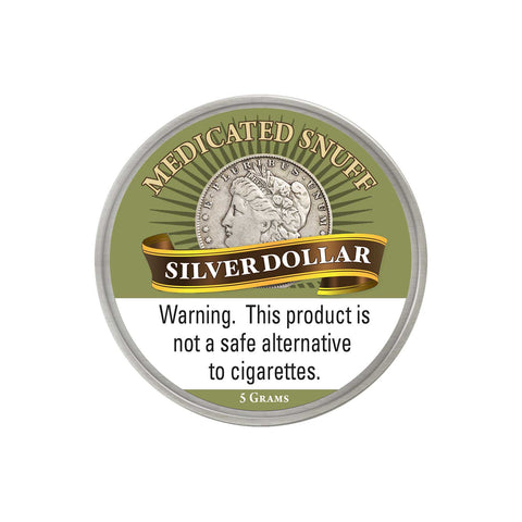 Silver Dollar Medicated - MrSnuff