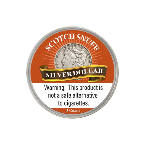 Silver Dollar Scotch - MrSnuff