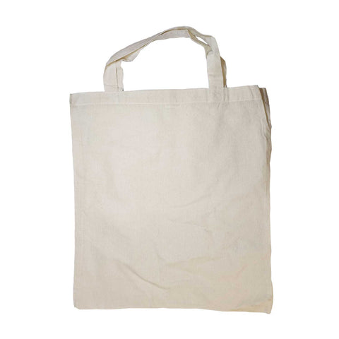 White Tote Bag - MrSnuff