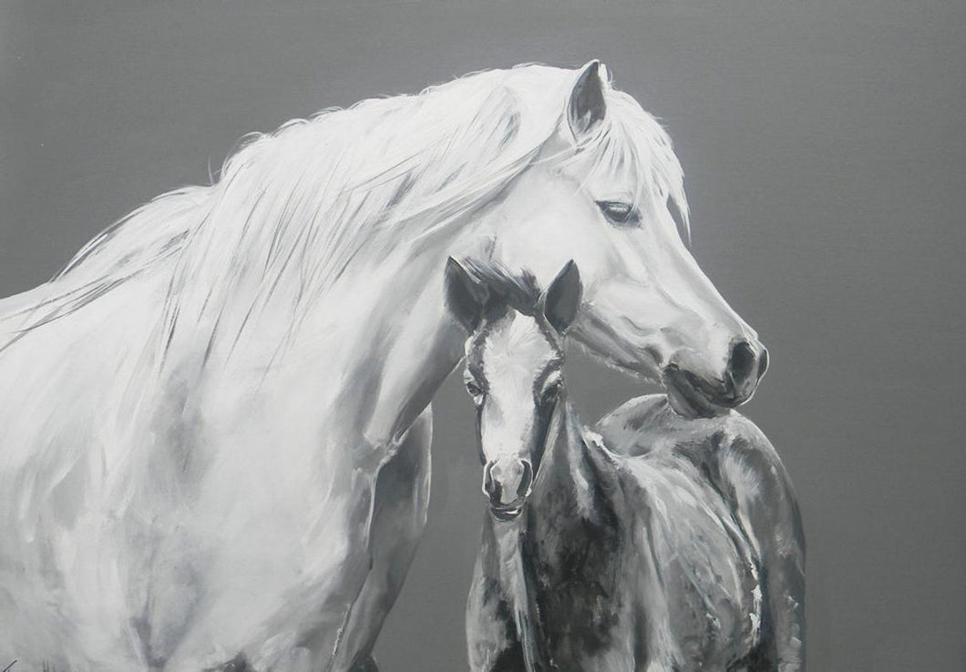 Large Horse Greetings Card