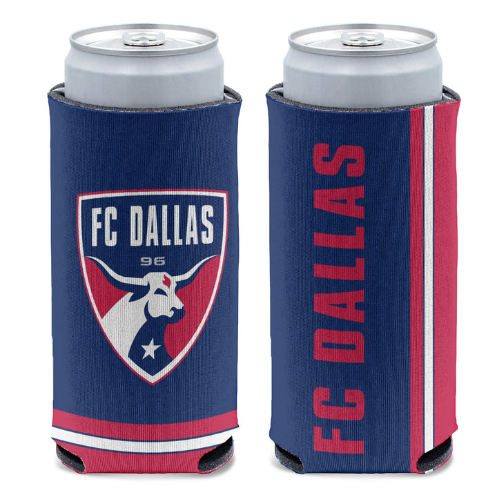 FC Dallas Slim Can Cooler