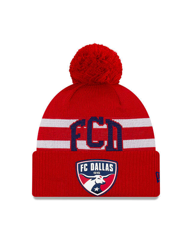FC Dallas Pom Knit Cap