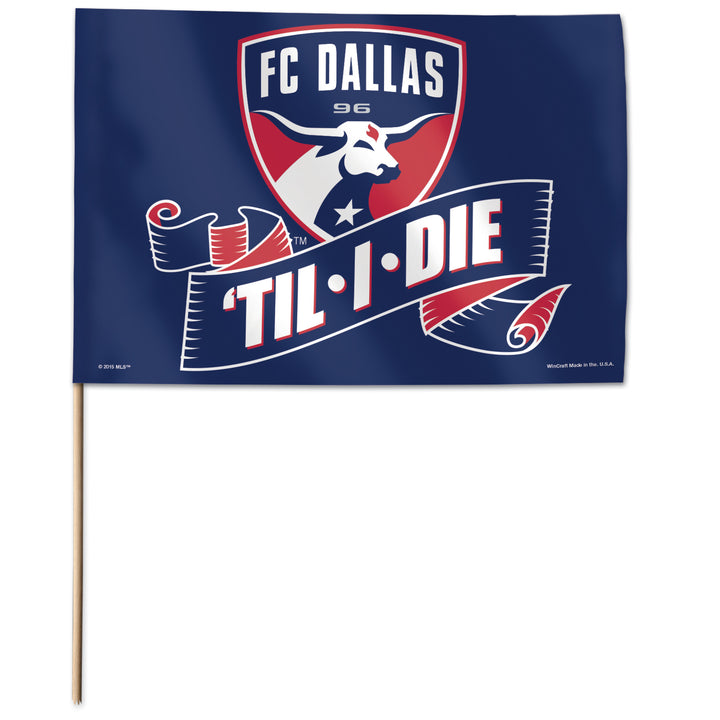FC Dallas DTID Stick Flag