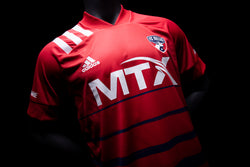 20 FC Dallas Home Authentic Jersey