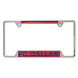 FC Dallas Inlaid Metal License Fram