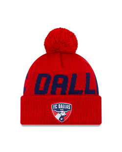 FC Dallas Knit Word