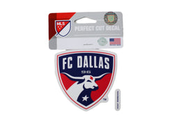 FC Dallas Logo 4x4 Decal