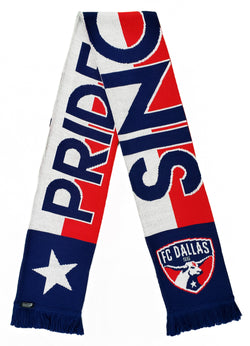 FC Dallas Texas Pride Scarf
