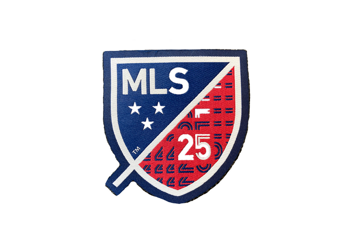 25th Anniversary FCD MLS Patch