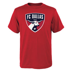 FC Dallas Youth Primary Logo Tee