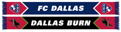 FC Dallas Burn Tribute Scarf