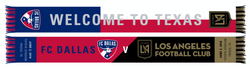 FC Dallas v LAFC Match Up Scarf