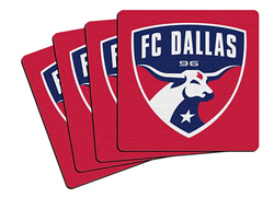 FC Dallas 4-Pack Coaster Set