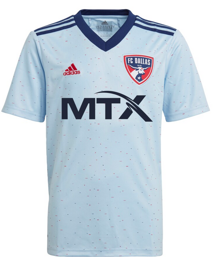21 FC Dallas Youth Away Jersey