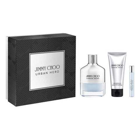 Set de Perfume Hombre Urban Hero Jimmy Choo EDP (3 pcs)