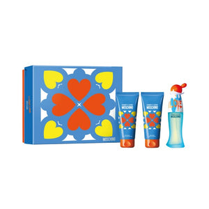 Set de Perfume Mujer Cheap And Chic I Love Love Moschino (3 pcs)