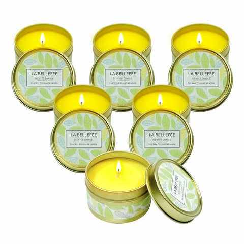 Velas Citronela (6 uds) (Reacondicionado A+)