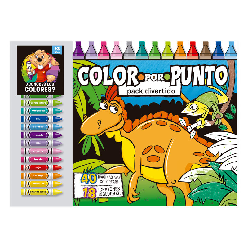Color por Punto Pack Divertido