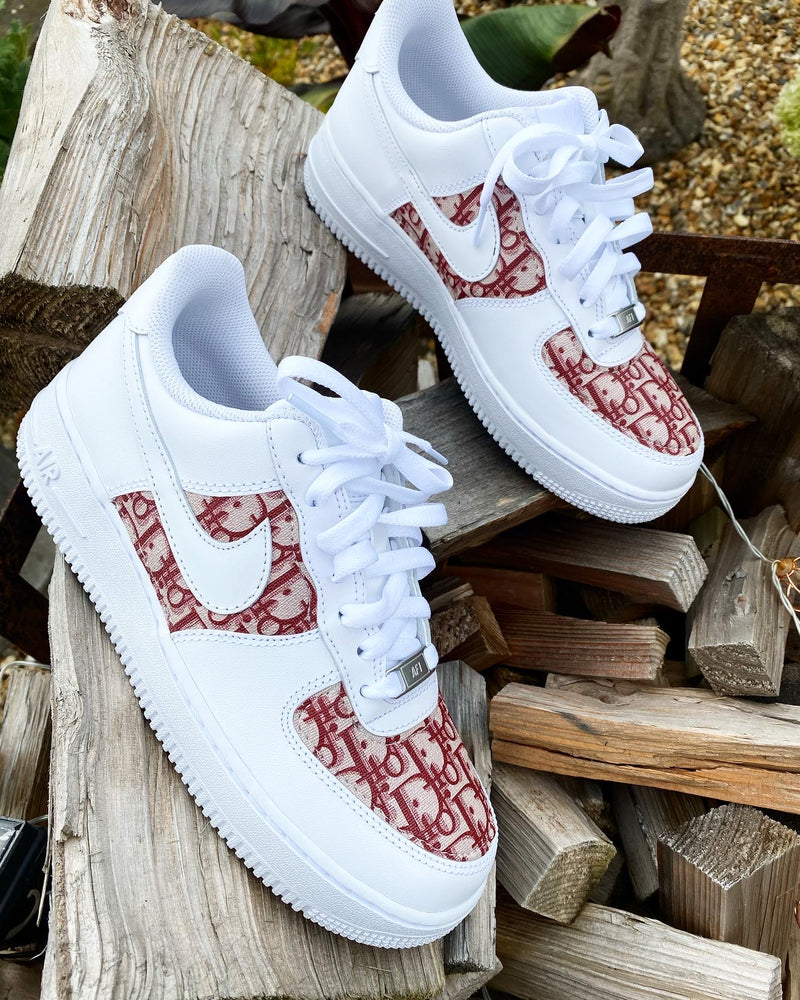 Nike Air Force 1 - White | Red • CD