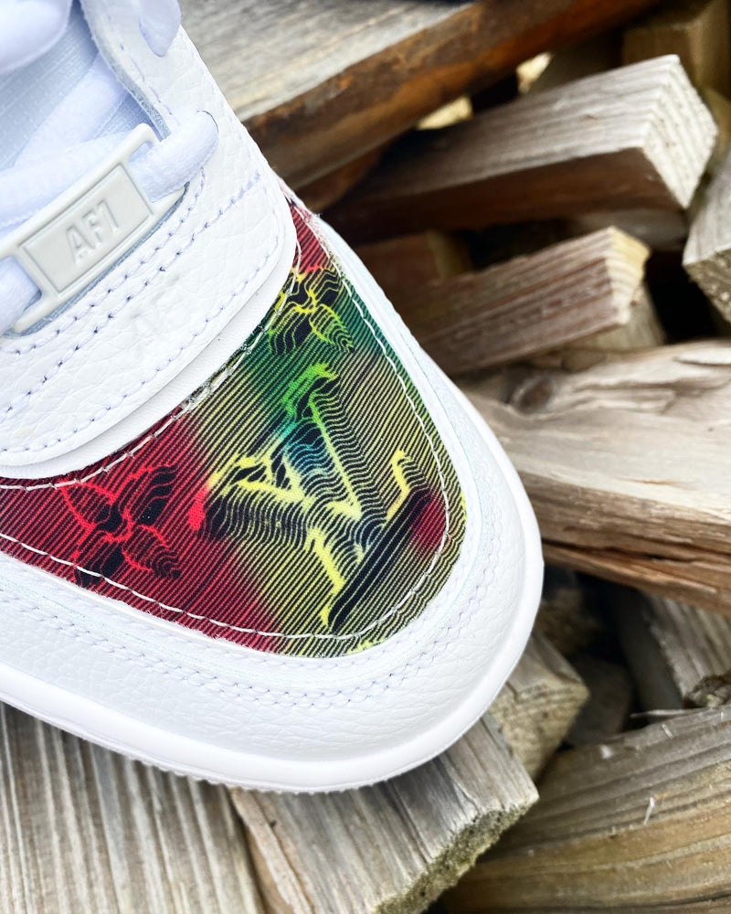 Nike Air Force 1 Shadow | White • Multi-colour Monogram