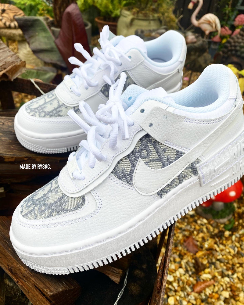Nike Air Force 1 Shadow • White | Grey CD