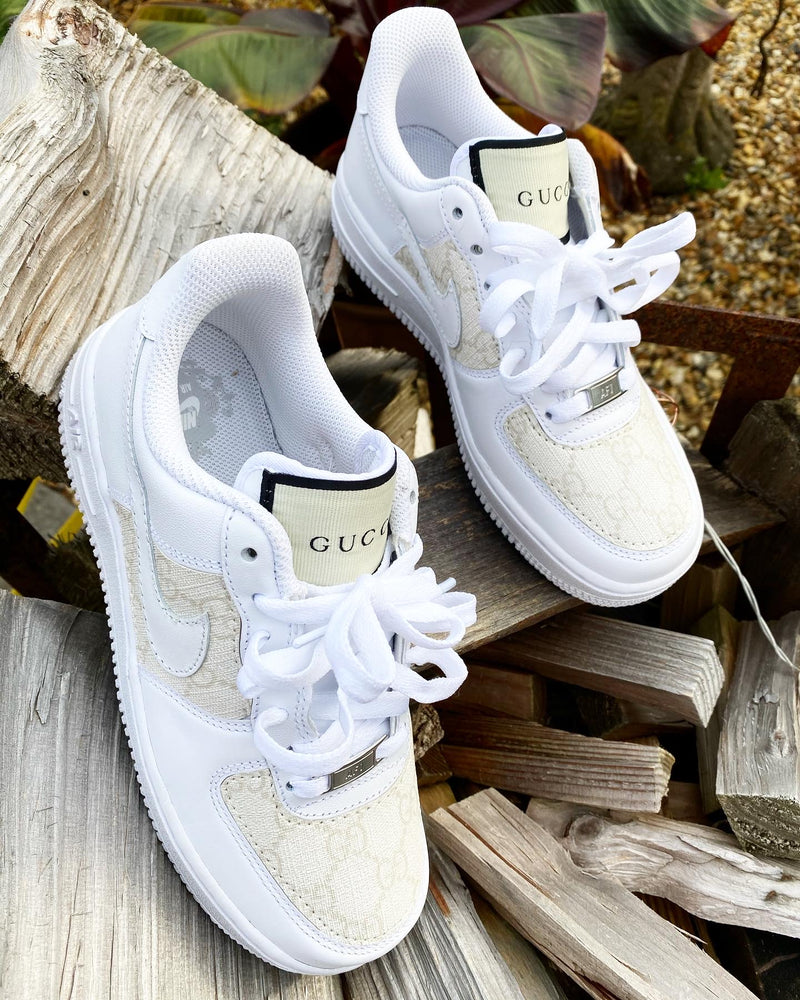 Nike Air Force 1 - White | Cream • GG
