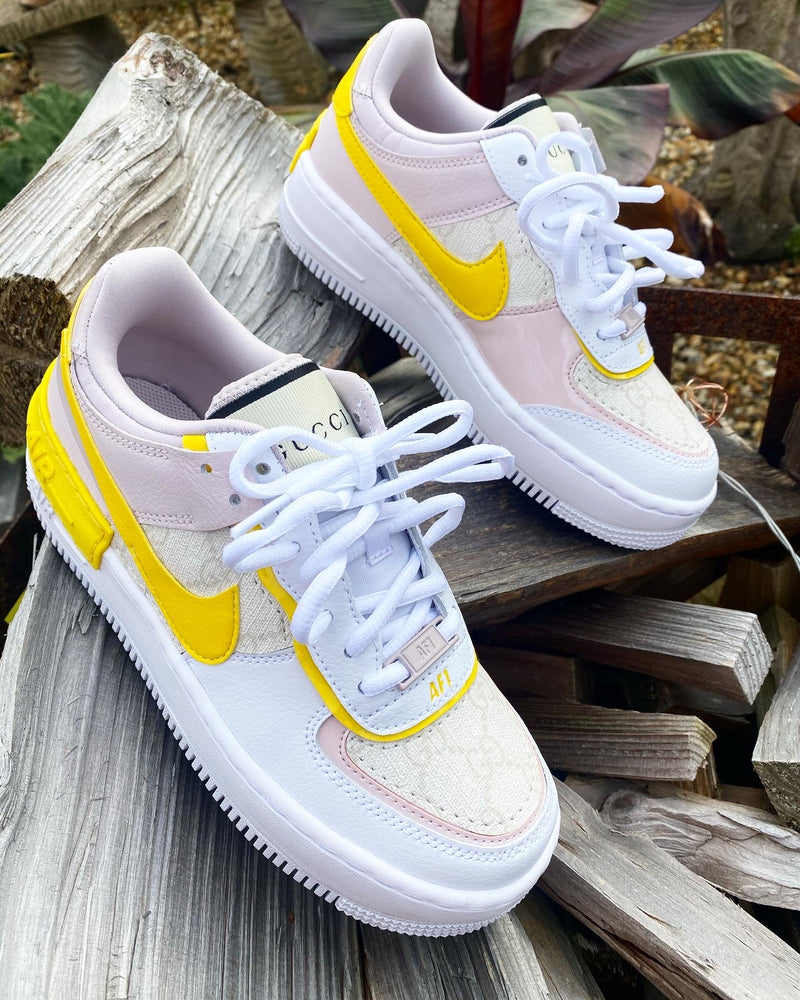 Nike Air Force 1 Shadow | Barely rose • Cream GG
