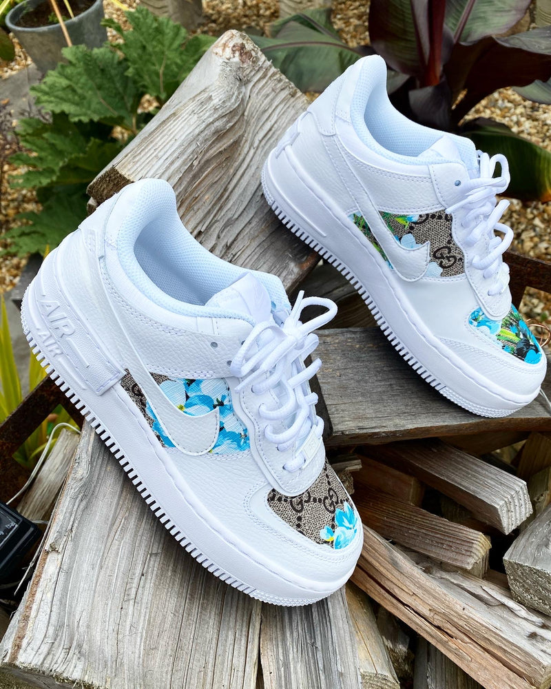 Nike Air Force 1 Shadow | Blossom Blue • GG