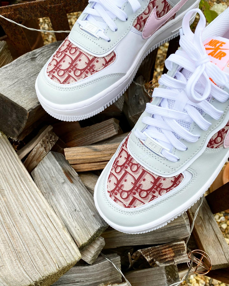 Nike Air Force 1 Shadow | Total Orange • Red Dior