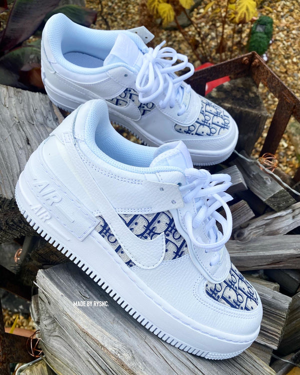 Nike Air Force 1 Shadow | White • Navy CD
