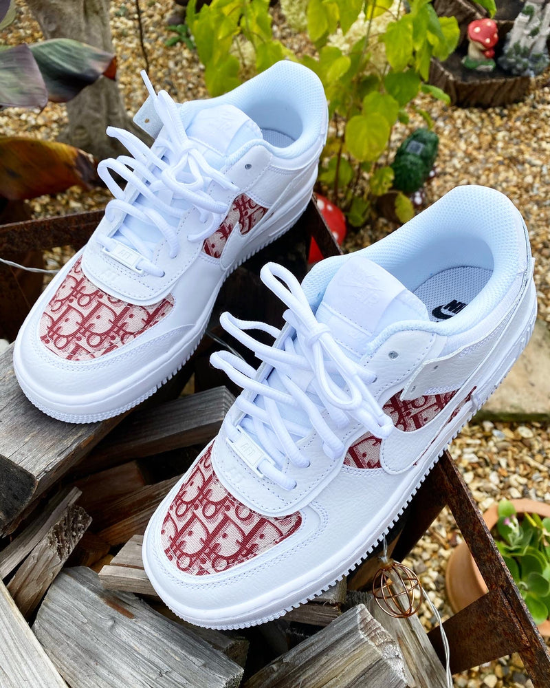 Nike Air Force 1 Shadow | White • Rouge CD