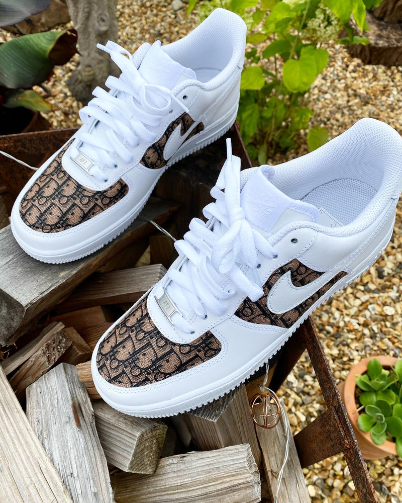 Nike Air Force 1 - White | Brown Coffee • CD