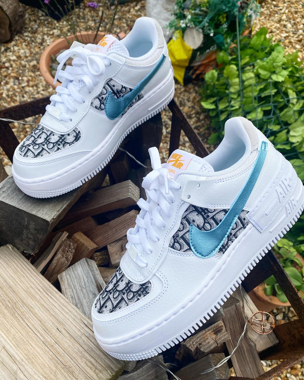 Nike Air Force 1 Shadow | Ice Glacier • CD