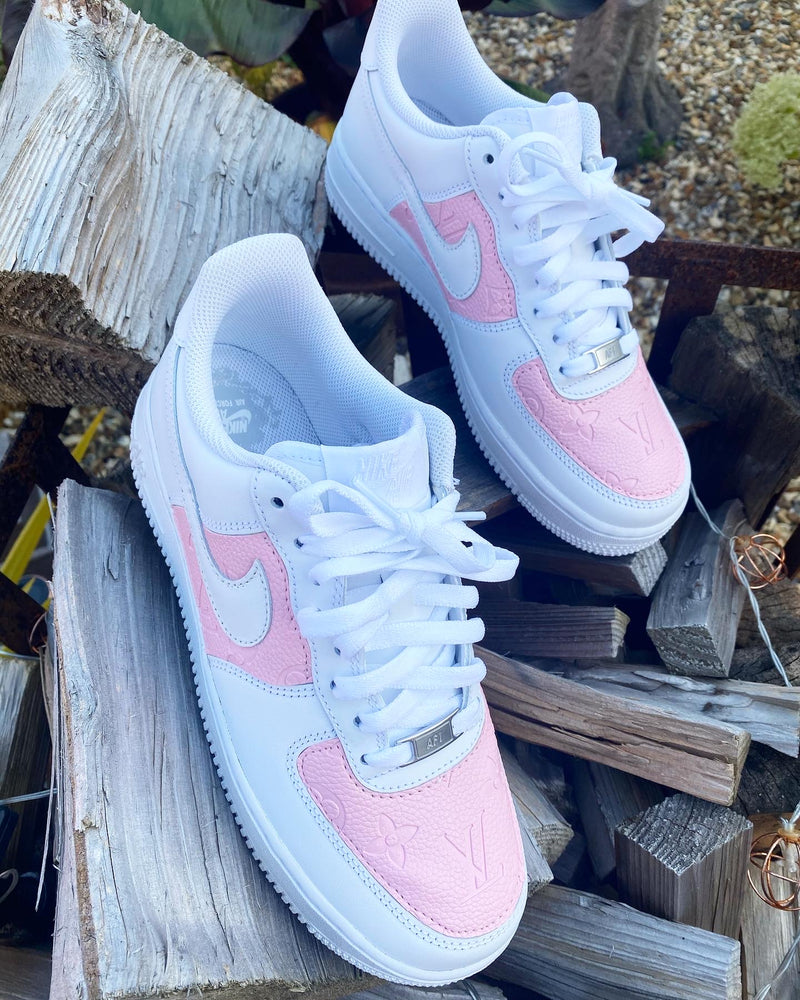 Nike Air Force 1 '07 • White | Pink Monogram