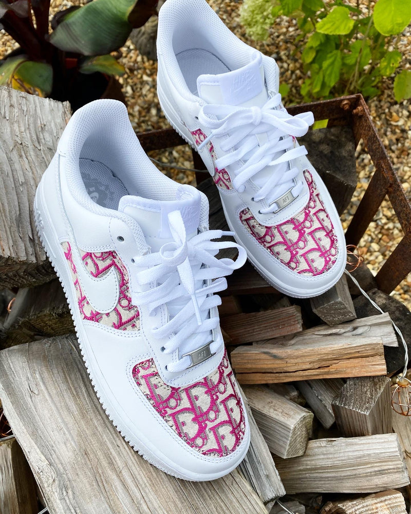 Nike Air Force 1 - White | Pink • CD