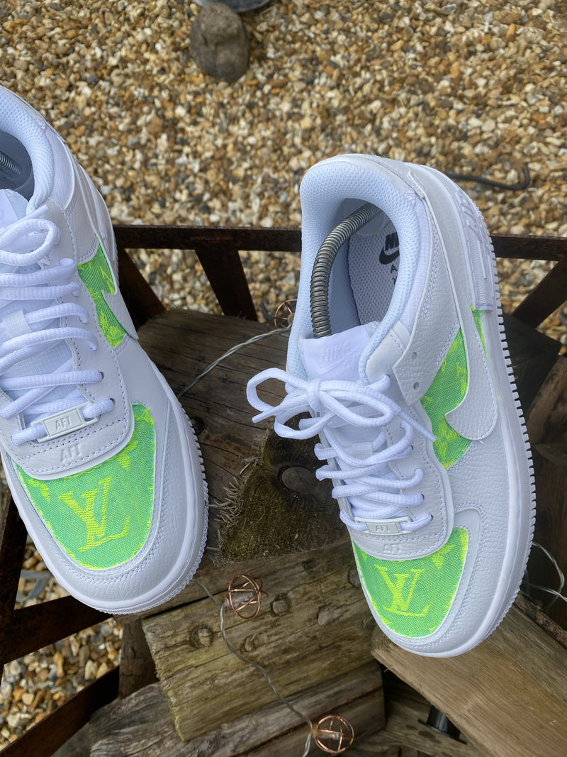 Blue/Yellow/Fluo - White Louis Vuitton AF1 Shadow