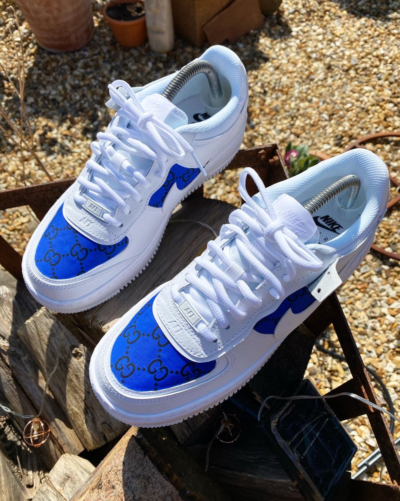 Nike Air Force 1 Shadow | Royal Blue Gucci - footwearstorerysnc