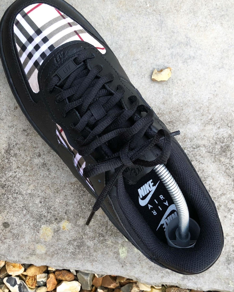 Black Burberry AF1 Shadow