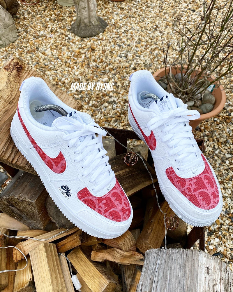 Nike Air Force 1 '20 - White | Cherry • Dior