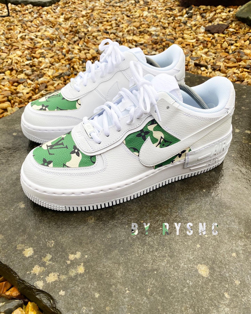 Nike Air Force 1 Shadow | Camo • Monogram