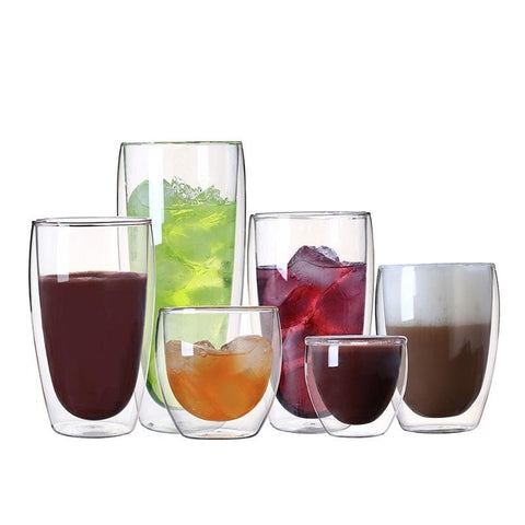 Double Wall Glass Drinking Cup | The Cuisine Shop