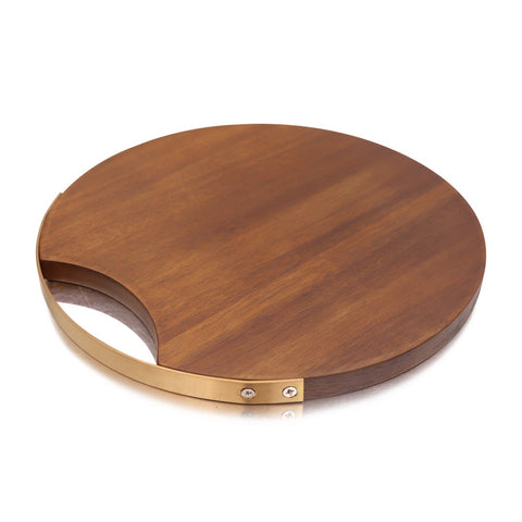 Round Wooden Cutting Board | The Cuisine Shop