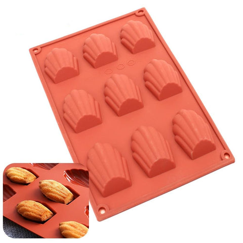 Madeleine Cake Silicone Mould | The Cuisine Shop