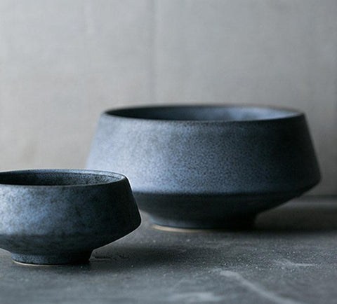 Gray Marble Ceramic Bowl | The Cuisine Shop
