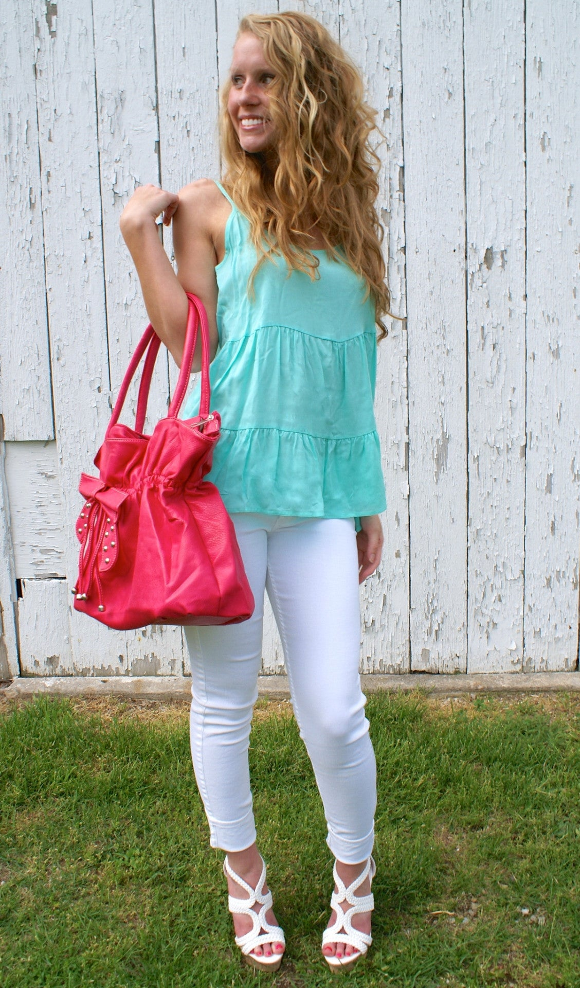 Summer Breeze Top: Mint