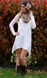 Cream Sweater Dress