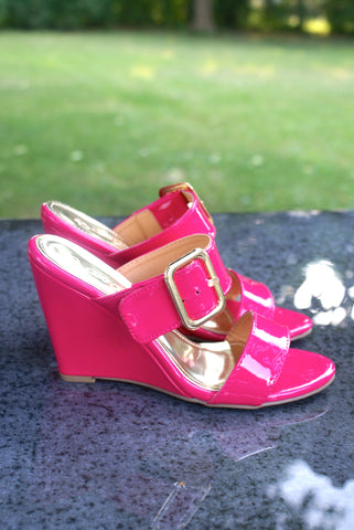 Time To Flirt Shoes: Pink