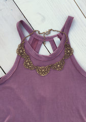 Match All Necklace: Gold