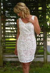 Like Whoa Dress: Cream/Ivory