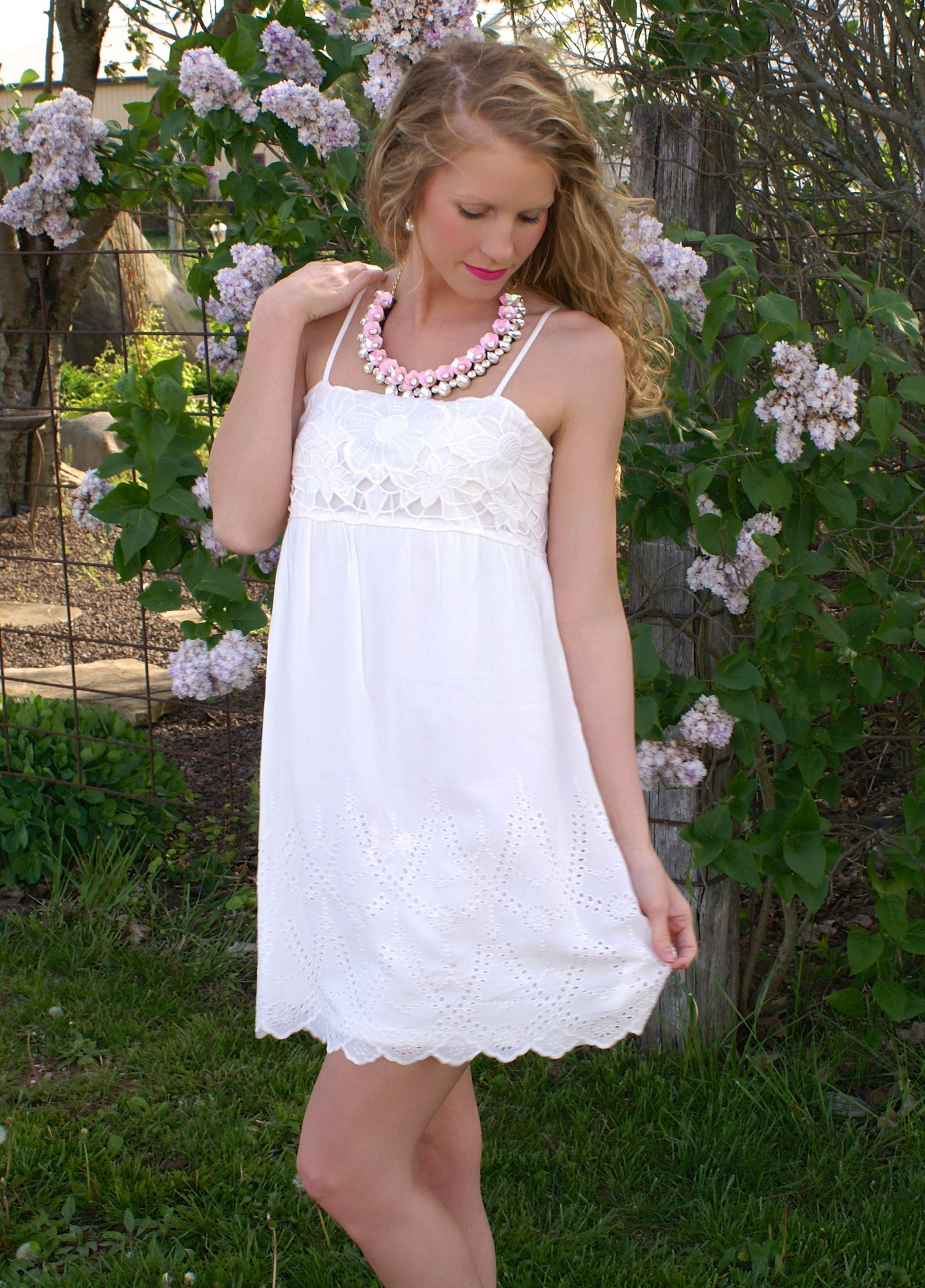 Let's Dance Dress: White